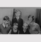 L to R - Francis (1961), Mariam (1969), John (back-1963), William (1965), Mum