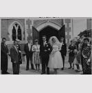 Mum and Dad's Wedding Day at St Joseph's Catholic church in Papanui.