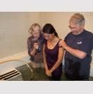 Pastor Rita and Bill at Baptism
